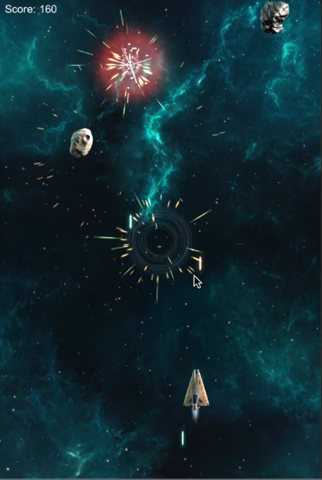 Space Shooter Extended Great Effects