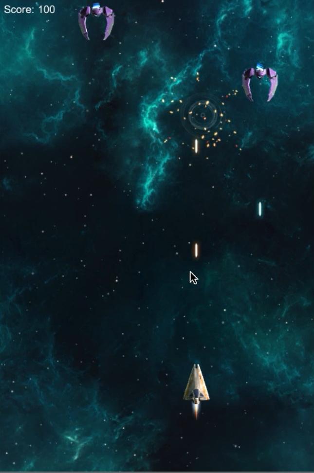 Space Shooter Extended Multiple Enemies