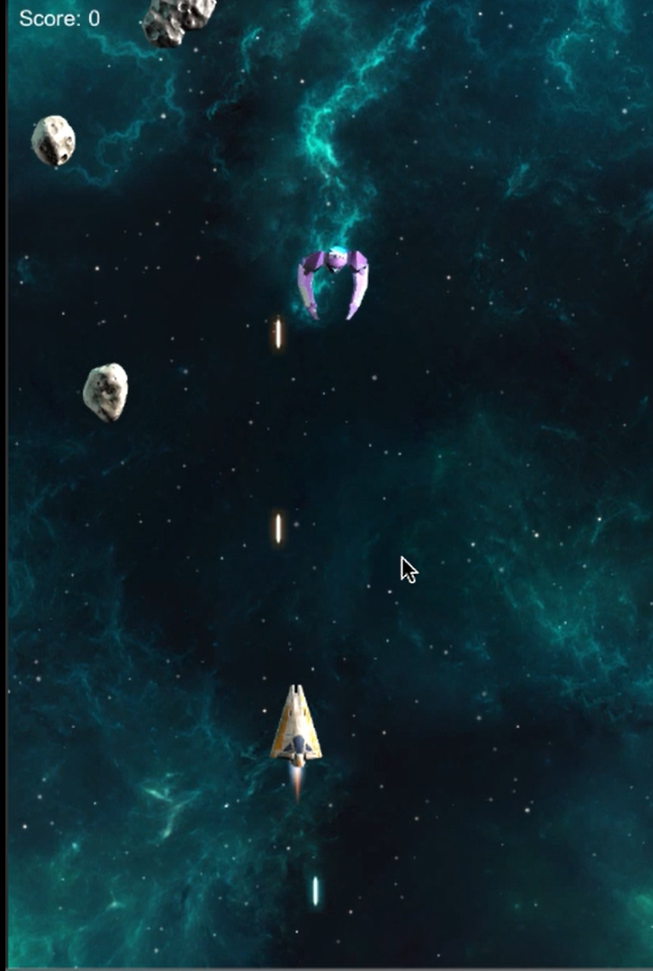 Space Shooter Extended Tilting