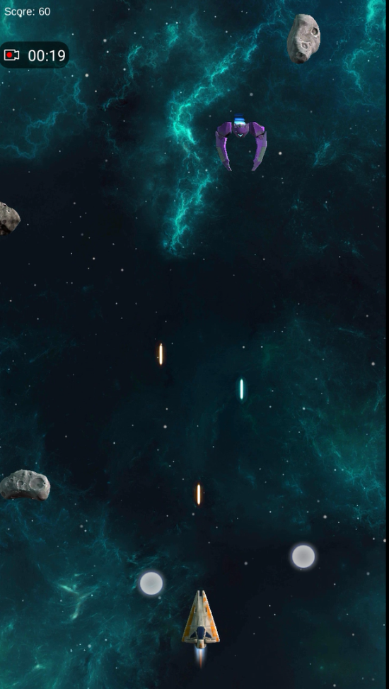 Space Shooter Android Enemy Shooting