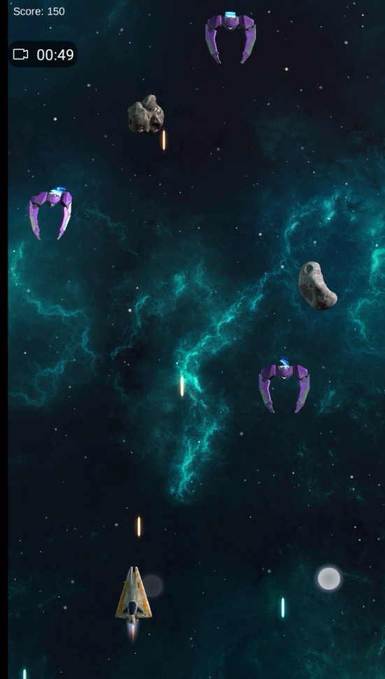 Space Shooter Android Multiple Enemies