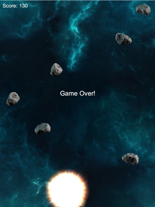 Space Shooter End Game Explosion 1