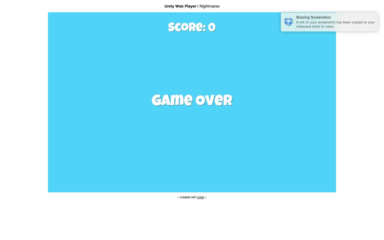 Survivor Shooter Game Over